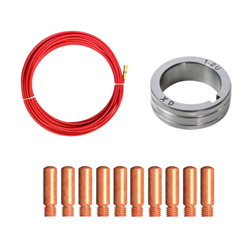 Aluminum welding kit for 0.035(0.9) Al wire only