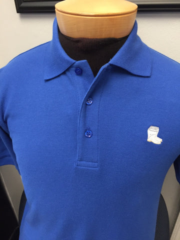 Men's Blend Polo with Boot Logo