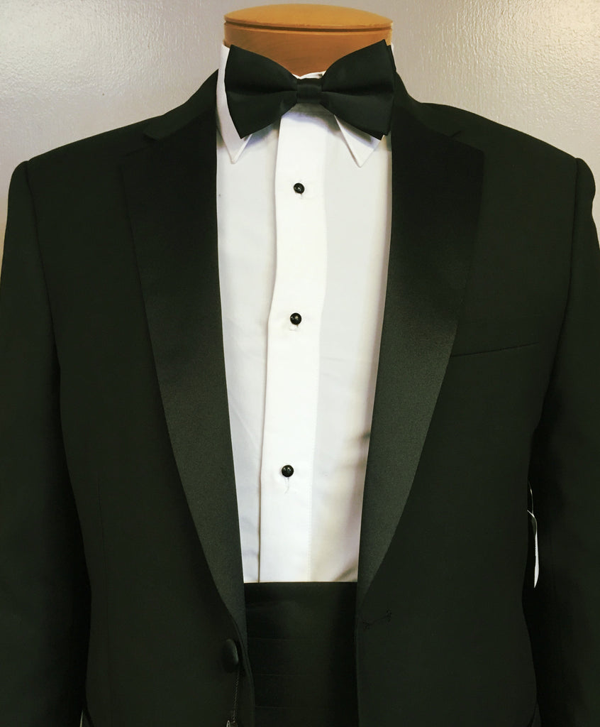 The 169 Tuxedo Package Includes Shirt Cummerbund Bow