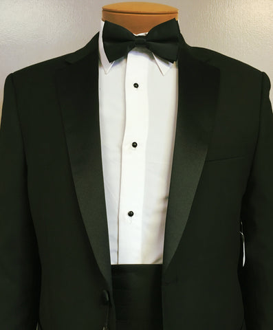The $169 Tuxedo Package (Includes Shirt, Cummerbund, & Bow Tie)