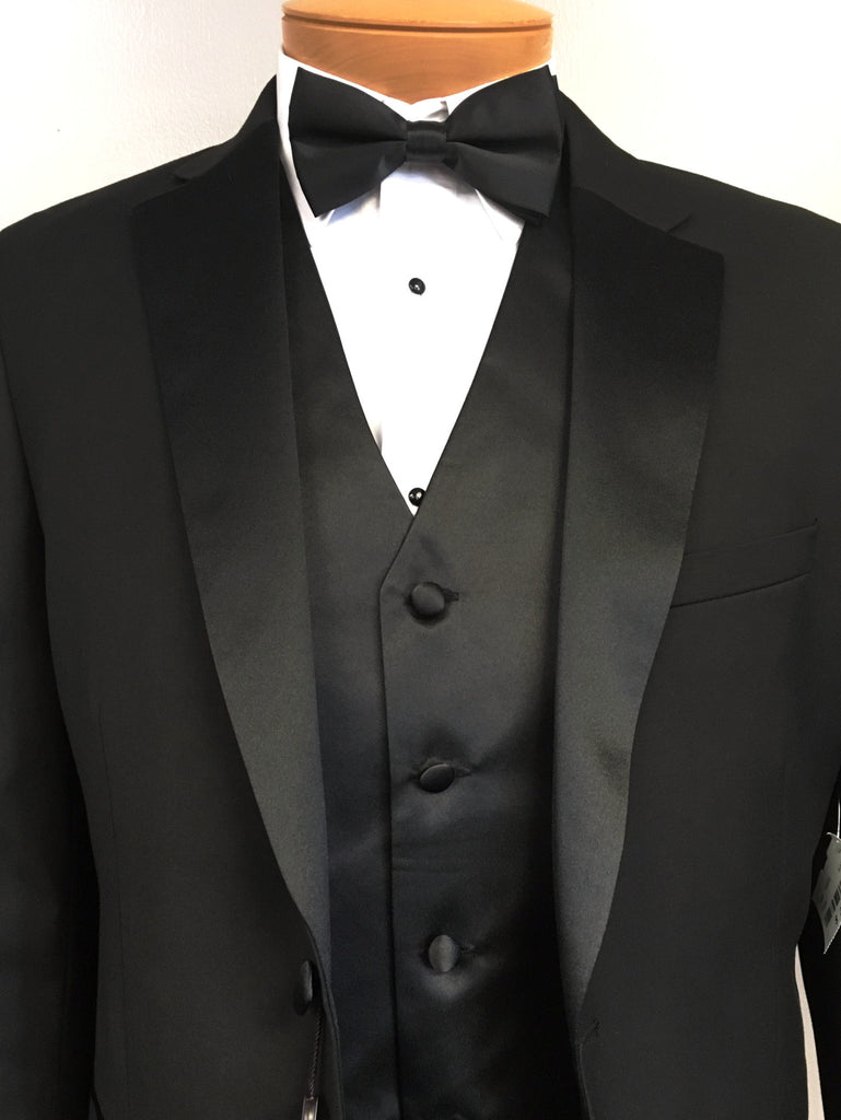 The 179 tuxedo package includes shirt vest set for The tuxedo house
