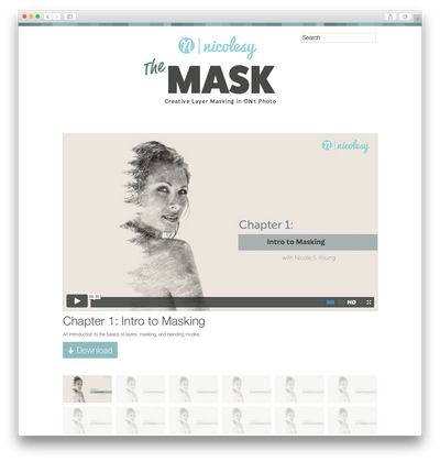 Nicolesy eBook: The Mask