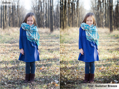 Free Lightroom Preset: Summer Breeze