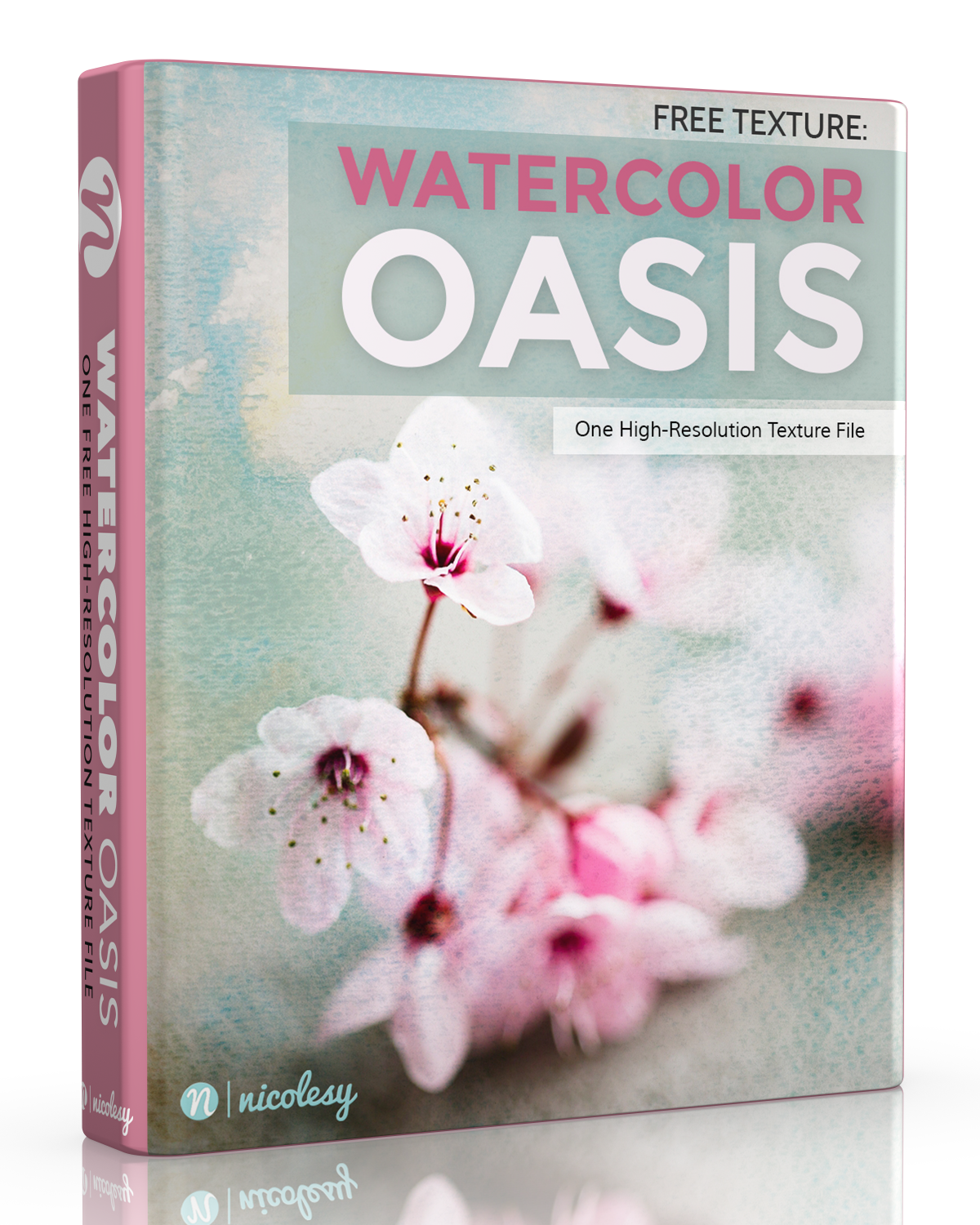Free Watercolor Texture: Oasis