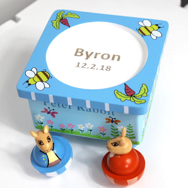 Personalised Peter Rabbit Musical Box