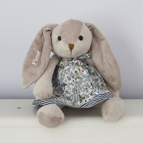 Personalised Stone Bunny Rabbit in Dress