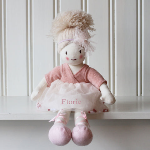 Personalised Knitted Amelie Doll
