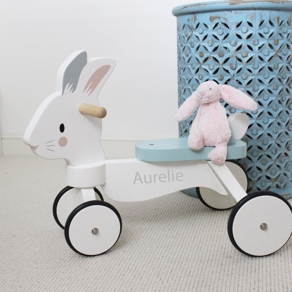 Personalised Ride on Rabbit