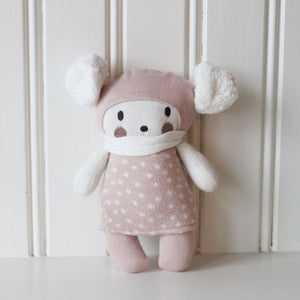 Newborn Knitted Toy in Gift Box - Bella