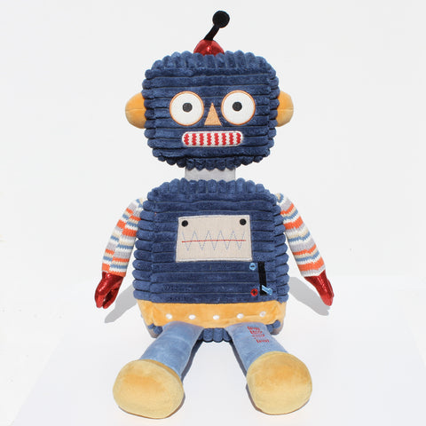 Personalised Robot Soft Toy