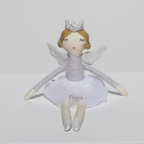 Personalised Fairy Doll Soft Toy Doll