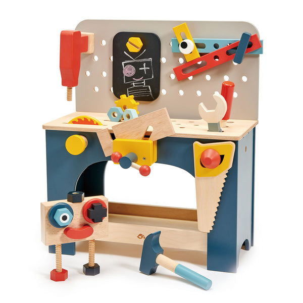 Personalised Wooden Toy Tool Bench