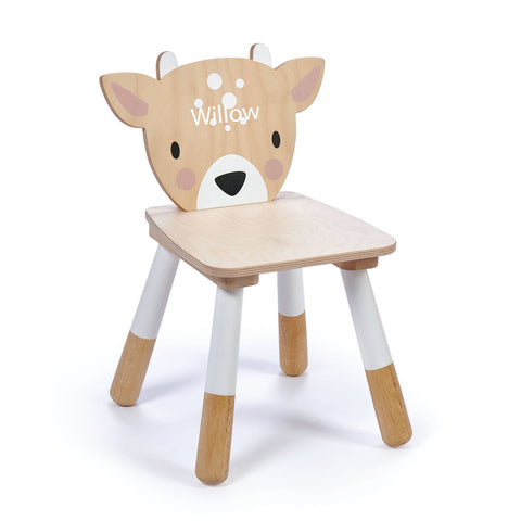 Personalised Child Wooden Deer Chair