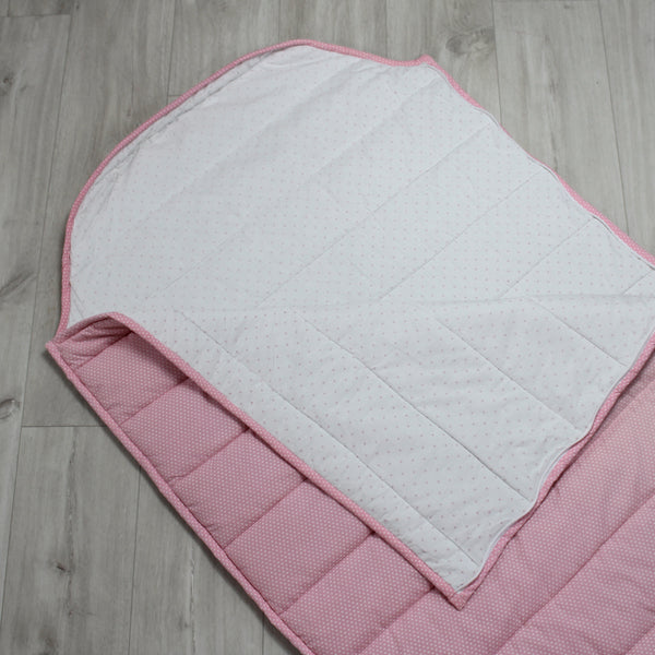 Personalised Sleeping Bag - Pink Spot
