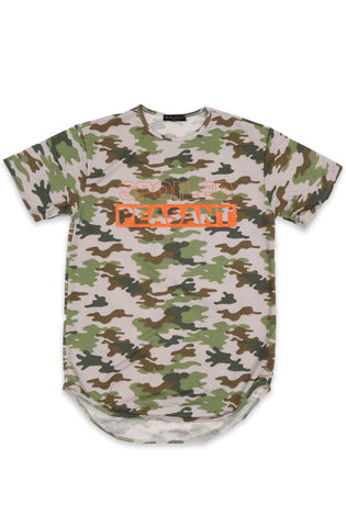 Spoiled Peasant Scoop Tee in Camo