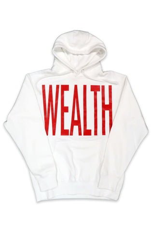 Wealth Hoodie in White