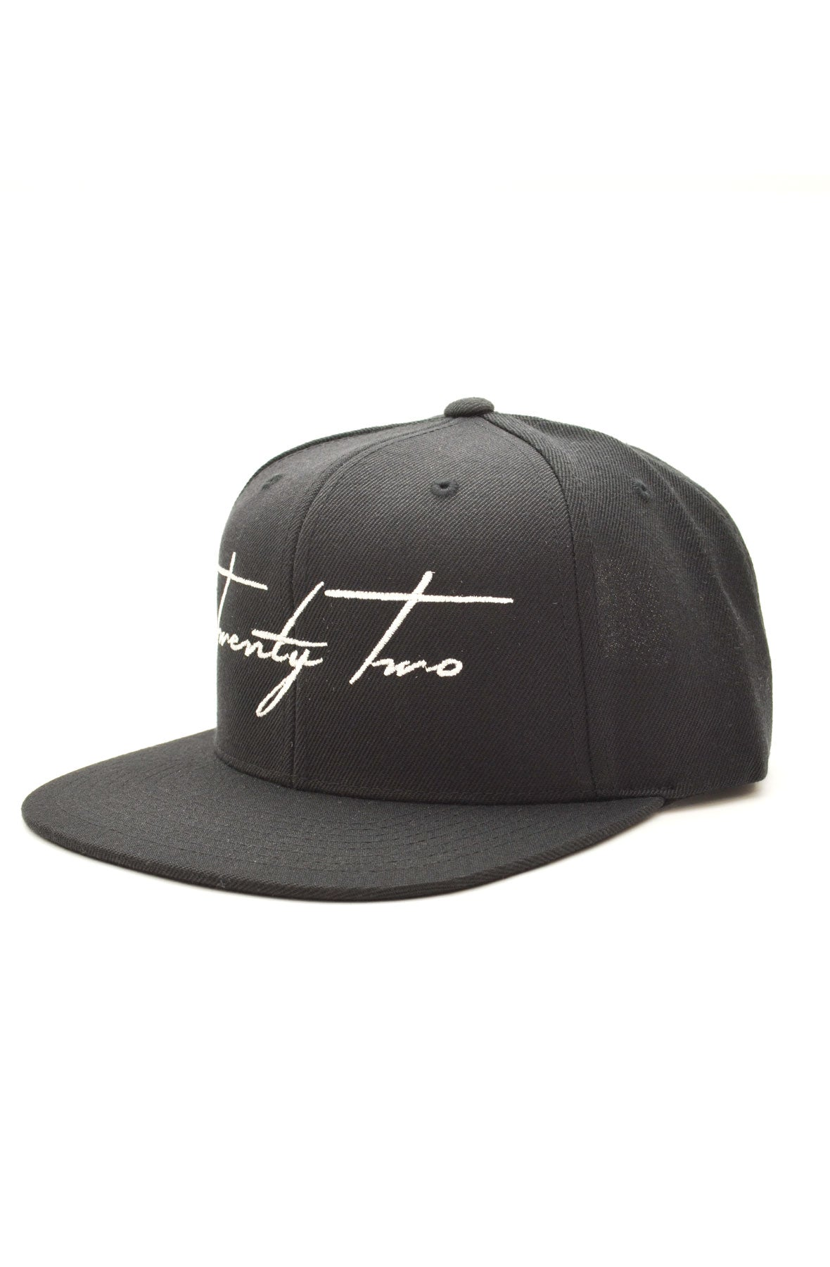Signature Snapback in Black/White