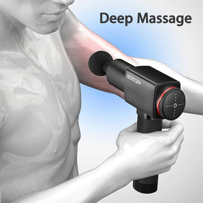 NEW & High Quality Muscle Deep Tissue Gun Massager Therapy