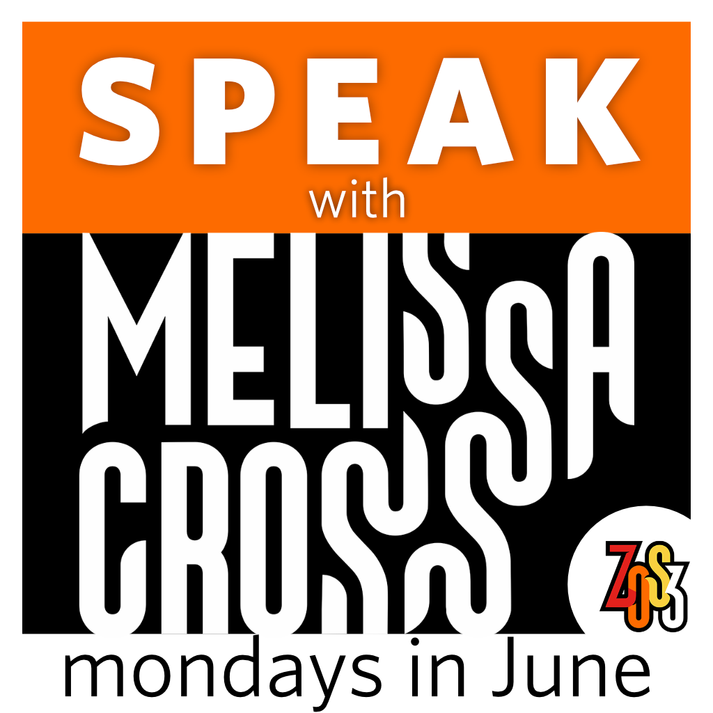 SPEAK with Melissa Cross (Live, online course over 3 Mondays in June)