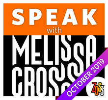 Load image into Gallery viewer, SPEAK with Melissa Cross (Pre-Recorded, Online Class & Workshop)