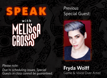 Load image into Gallery viewer, SPEAK with Melissa Cross LIVE (Sundays, April 25th, May 2nd, and May 9th)
