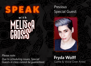 SPEAK with Melissa Cross LIVE (Sundays, April 25th, May 2nd, and May 9th)