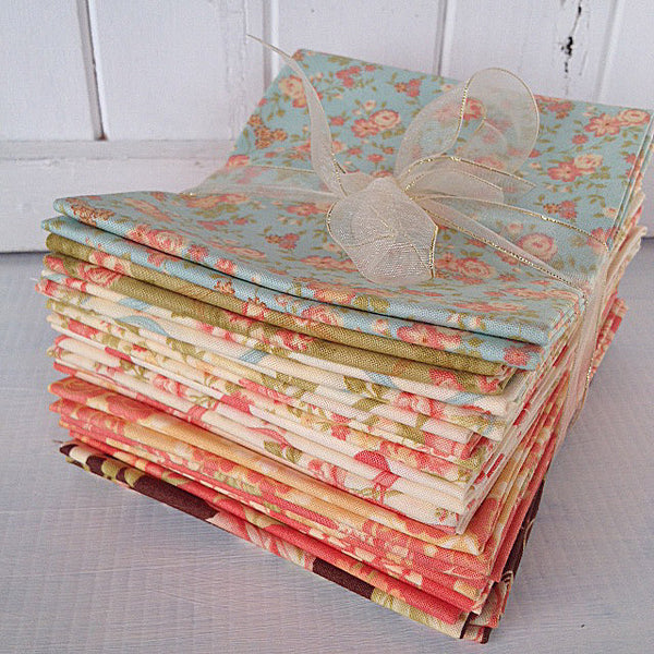 Bundle of 15 Fat Quarters from Breakfast at Tiffany's Range