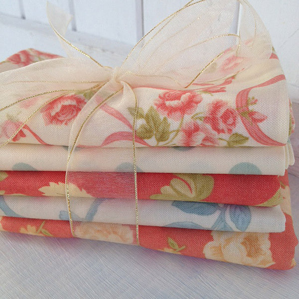 Bundle of 5 fat quarters #306