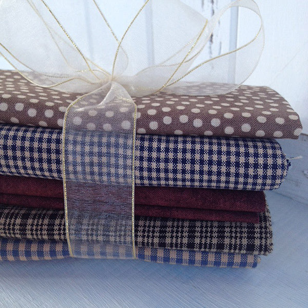 Bundle of 5 fat quarters #307
