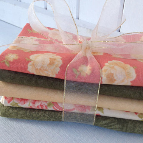 Bundle of 5 fat quarters #308