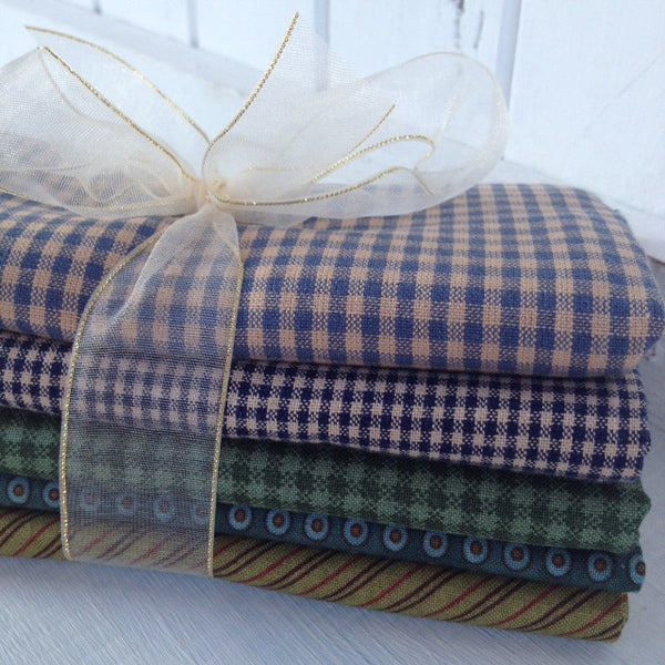 Bundle of 5 fat quarters #402