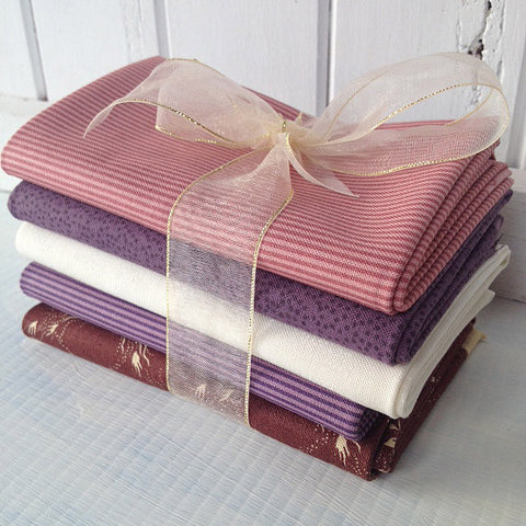Bundle of 5 fat quarters #403