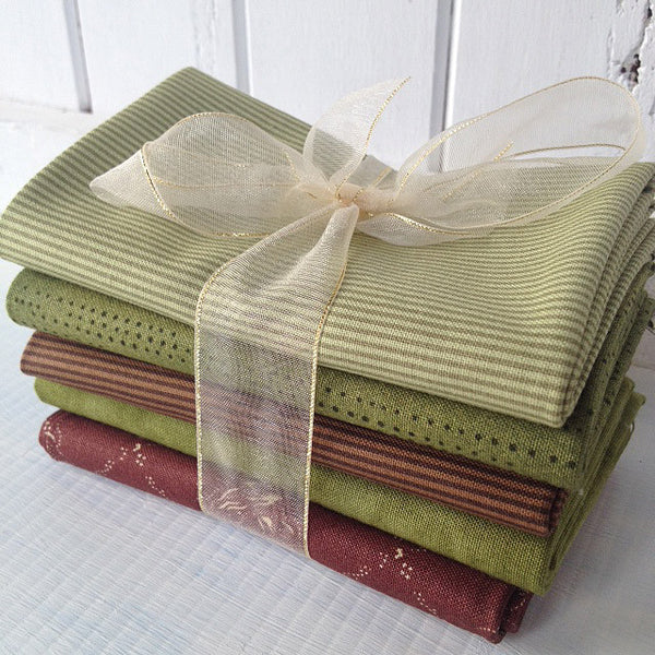 Bundle of 5 fat quarters #406