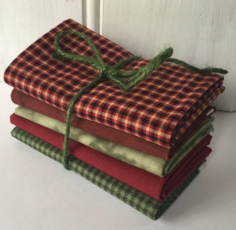 5 fat quarters Christmas #409