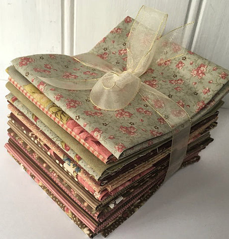 #501 Bundle of 15 Antique Fat Quarters