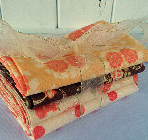 #510 Bundle of 4 fat quarters