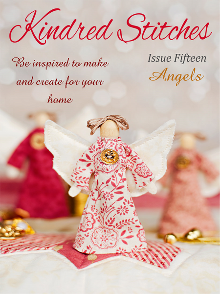 Kindred Stitches Magazine Issue Angels