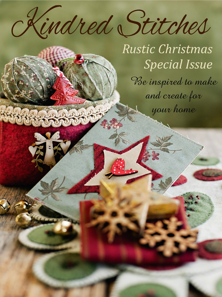 Kindred Stitches Magazine Special Issue Rustic Christmas