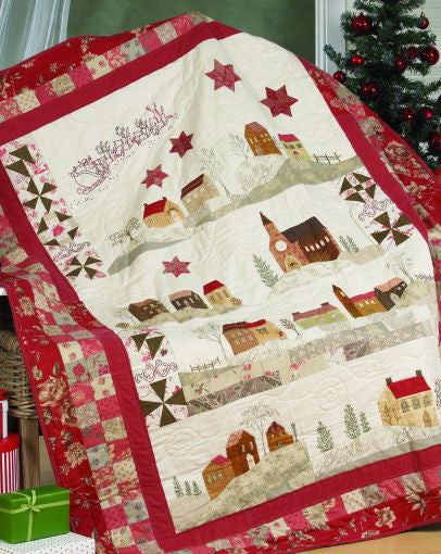 Christmas in Italy Bock of the Month Quilt Pattern Set