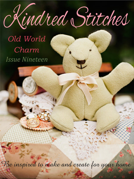 Kindred Stitches Magazine - Old World Charm