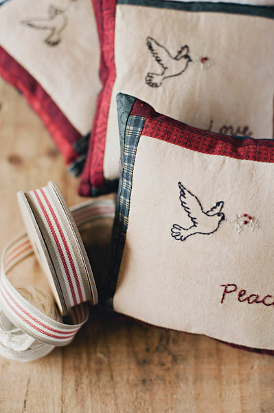 Love, Hope, Peace and Joy Christmas Pillows