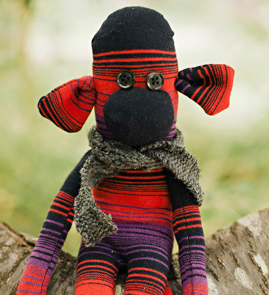 sock monkey pdf pattern