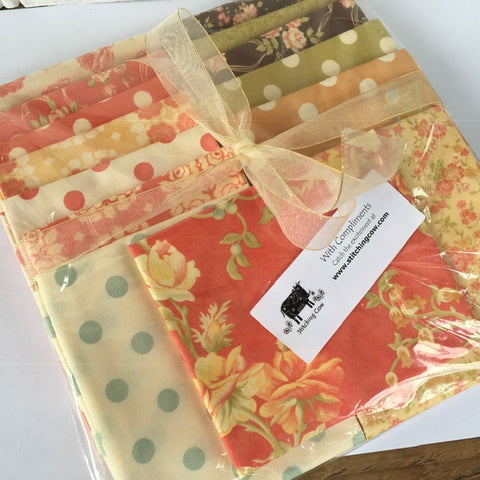 #408 15 Fat Quarters from Breakfast at Tiffany's Range