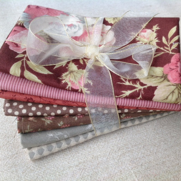 Bundle of 7 fat quarters #500