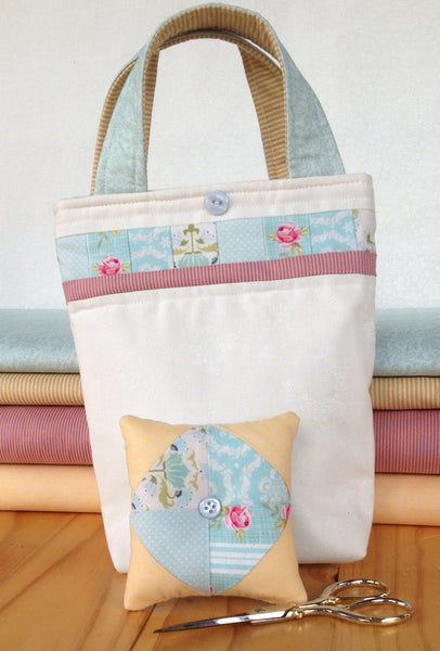 patchwork sewing bag pattern