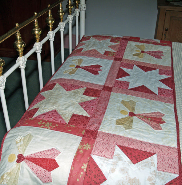Dresden Angel Bed Runner Pattern