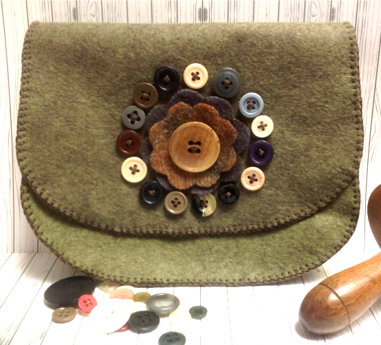 All Around Button Pouch