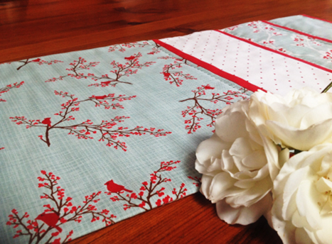 easy table runner pattern