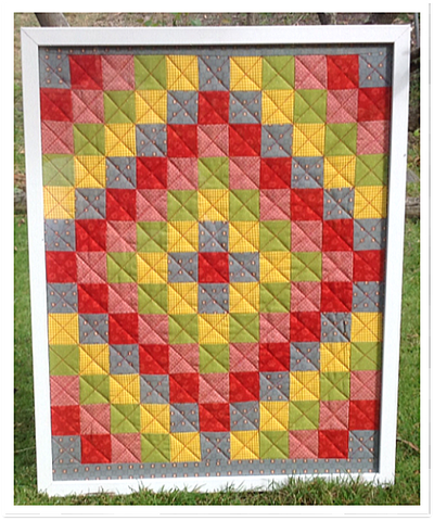 fat quarter friendly wall quilt pattern