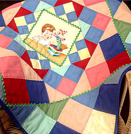 childrens wall quilt pdf pattern